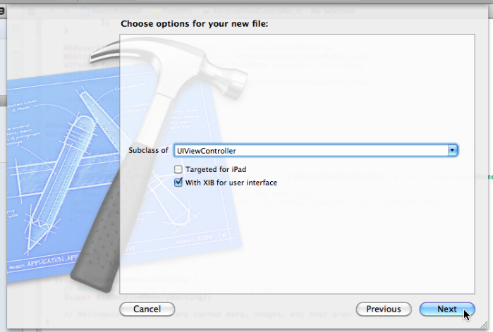 Tutorial using uitableview adding a detail view in xcode 4 ios specifying the superclass ccuart Image collections